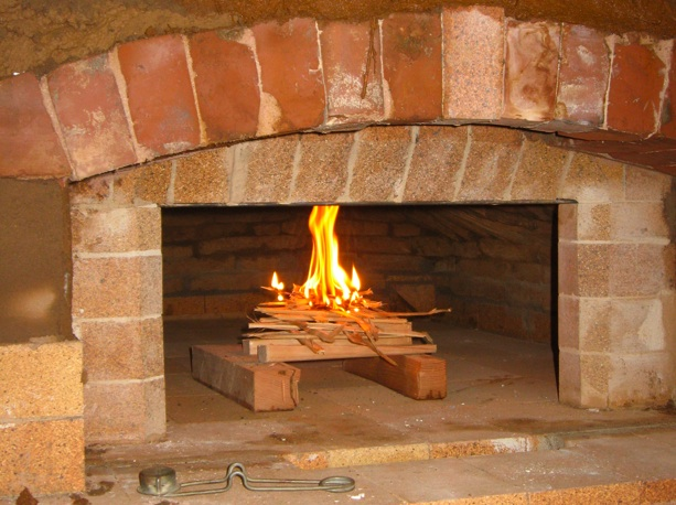 how to build an upsidedown fire