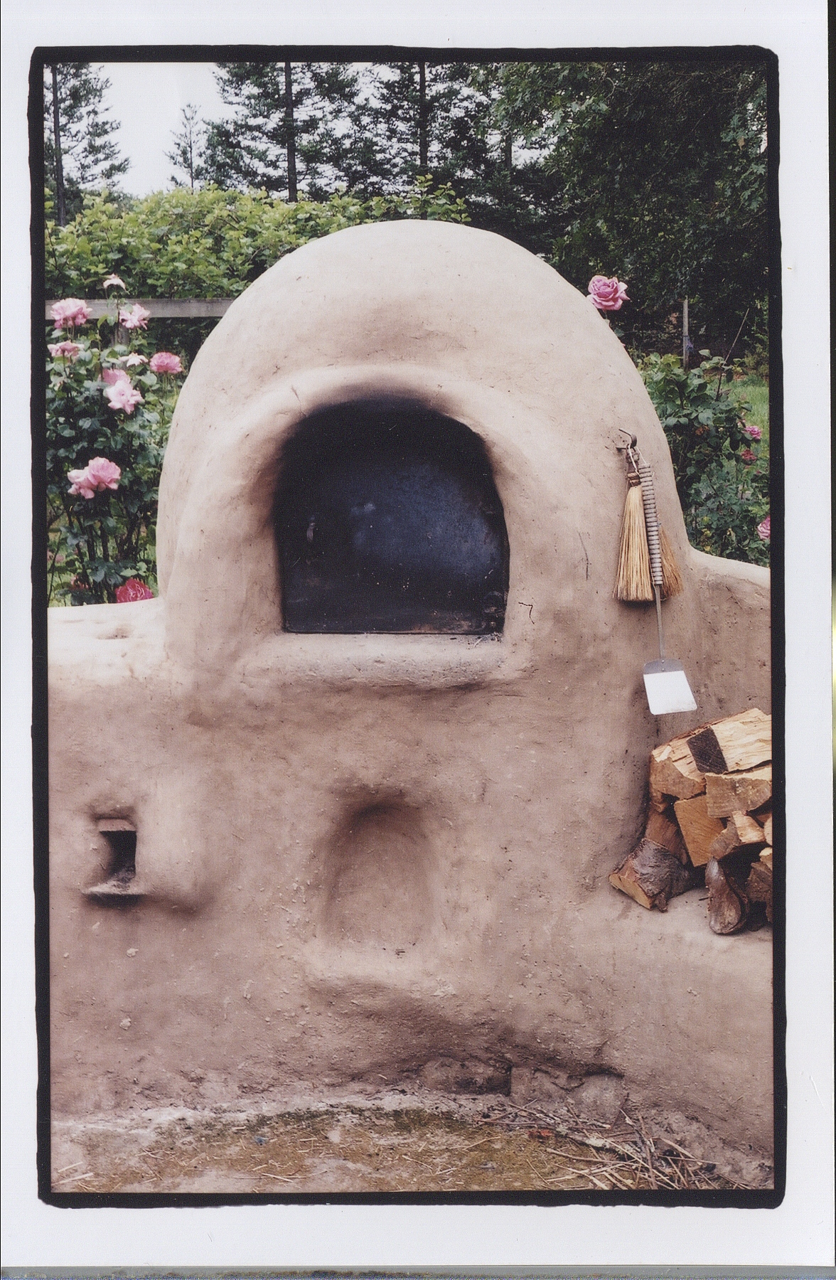 Guest Article An Earthen Oven Odyssey By Joe Kennedy Hand Print Press Rocket Stove Diagram Fireplace Pint I Had Heard Differ