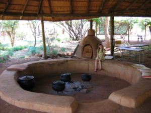 earthen oven in Africa