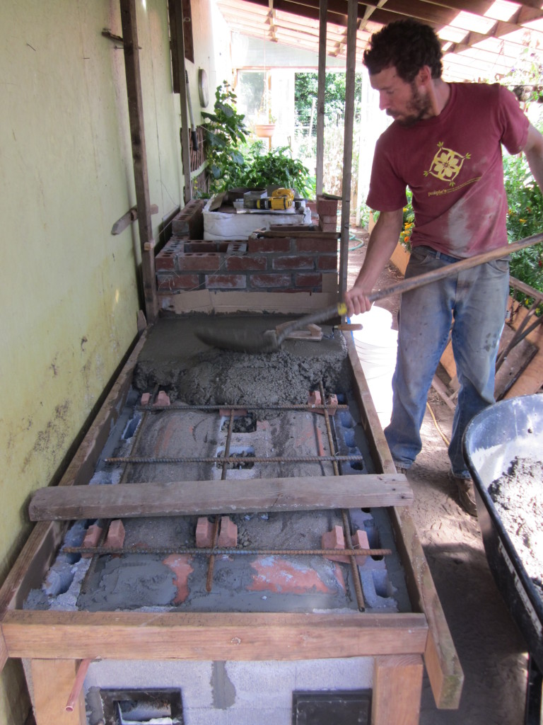 Diy Brick Greenhouse Floor
