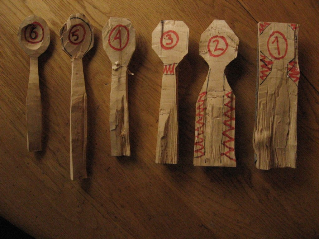 Stages of carving a spoon photo tutorial hand print press How to carve designs in wood