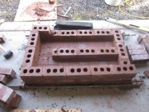 "5"" wide x 6"" high, for total cross sectional surface area (CSA) of 30 sq. in."