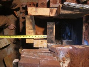 """we rebuild the stove firebox to the new design (now called the """"sidewinder"""")"""