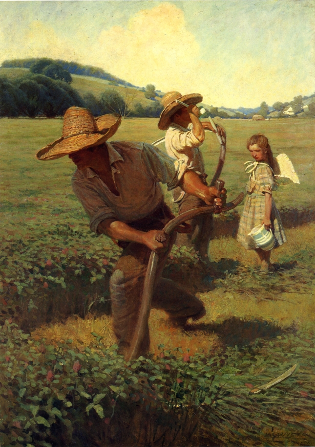 The Scything Handbook: Learn How to Cut Grass, Mow Meadows and Harvest Grain by Hand